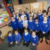 Sunderland school children create quilt for Holocaust Memorial Day