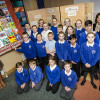 Sunderland school children create quilt for Holocaust Memorial Day