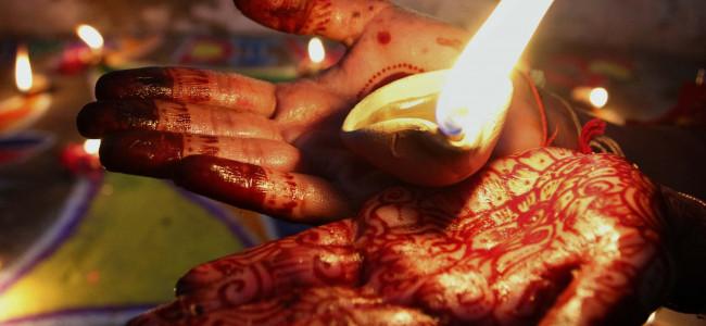 Diwali celebrations marked the Hindu New Year