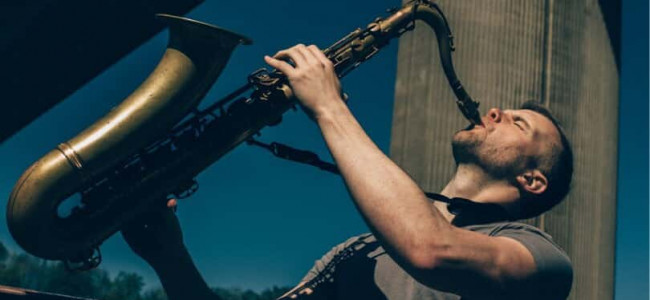 Saxophonist Joe Reeve on his goals, his inspiration and where he hopes to be in five years