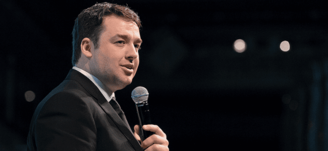 Jason Manford at the Metro Radio Arena: a review