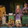Leaping lizards: Annie was a success at Newcastle Theatre Royal
