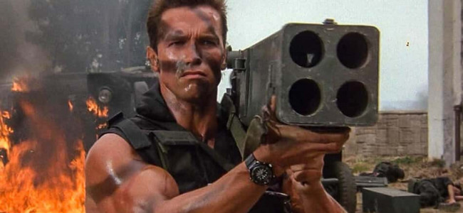 Movie Review: Commando 35th Anniversary