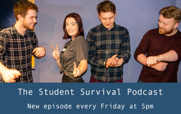 Student Survival Podcast Episode 26 – Travelling and University