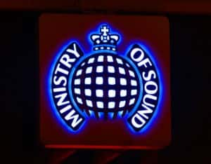 General view of Ministry of Sound, in central London.