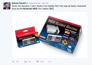 Darrens opinion on nes price